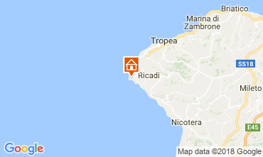 Mapa Capo Vaticano Villa 113093