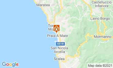 Mapa Praia a Mare Apartamento 95625