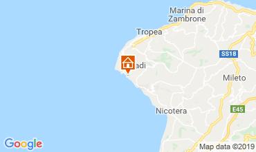 Mapa Capo Vaticano Apartamento 98854