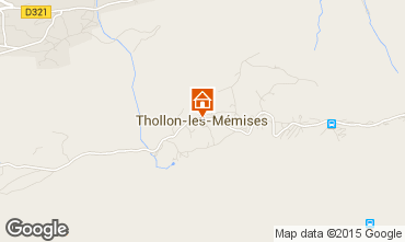 Mapa Thollon Les M�mises Apartamento 81227