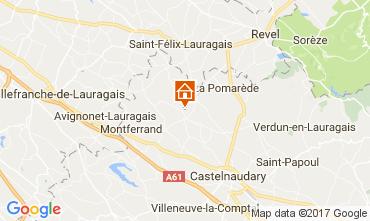 Mapa Carcassonne Casa rural 111797