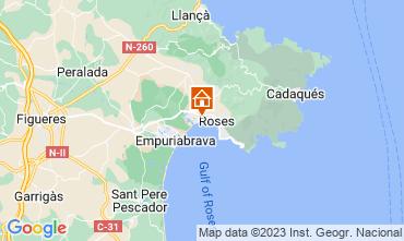 Mapa Rosas Apartamento 63973