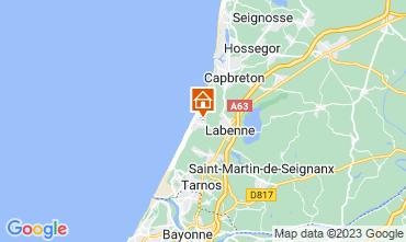 Mapa Labenne Océan Mobil home 72176