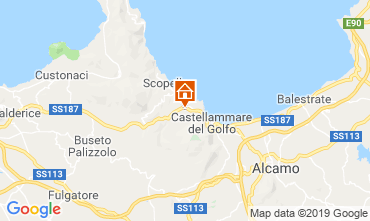 Mapa Scopello Villa 117671