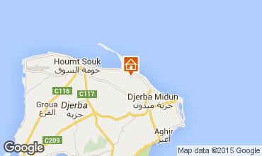 Mapa Djerba Villa 78118