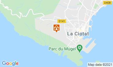 Mapa La Ciotat Casa rural 113946
