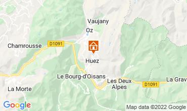 Mapa Alpe d'Huez Apartamento 82325