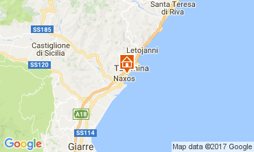 Mapa Giardini Naxos Estudio 47573