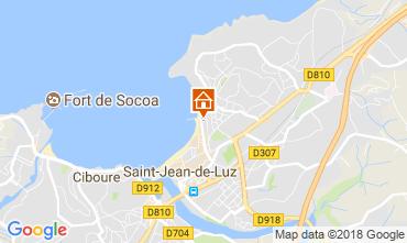 Mapa San Juan de Luz Apartamento 113335