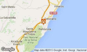Mapa Pe��scola Villa 74608