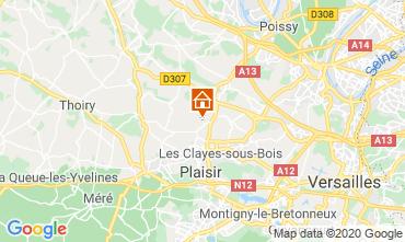 Mapa Versailles Villa 65060