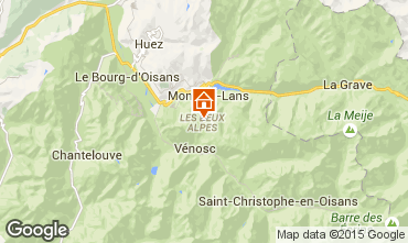 Mapa Les 2 Alpes Apartamento 49434