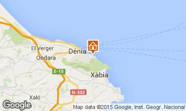Mapa Denia Apartamento 59995