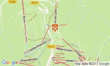 Mapa Les 2 Alpes Apartamento 25264