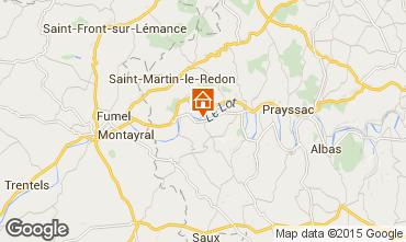 Mapa Mauroux Casa 89073