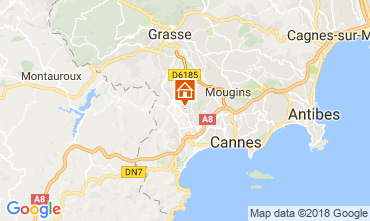 Mapa Cannes Casa rural 112877