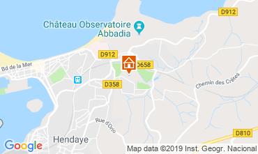 Mapa Hendaya Apartamento 108148
