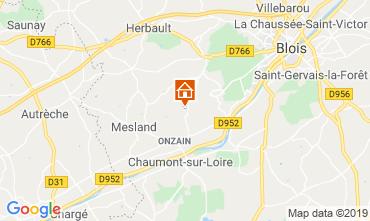 Mapa Blois Mobil home 117416
