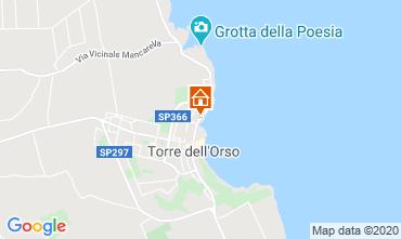 Mapa San Foca Apartamento 118770