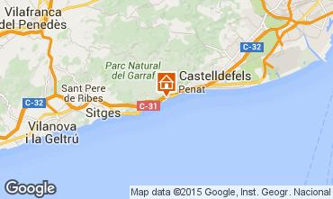 Mapa Barcelona Villa 95047