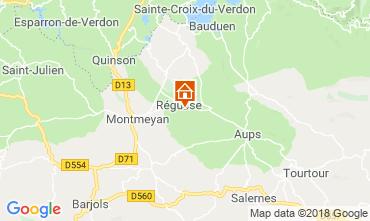 Mapa Régusse Villa 116818