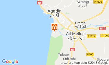 Mapa Agadir Alojamiento insólito 117445