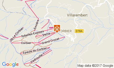 Mapa Le Corbier Estudio 102014