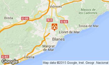 Mapa Blanes Apartamento 77586