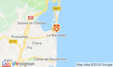 Mapa Le Barcares Casa 112837