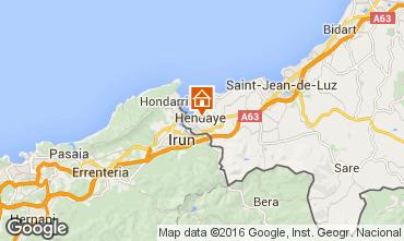Mapa Hendaya Apartamento 90159