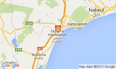 Mapa Hammamet Apartamento 9929