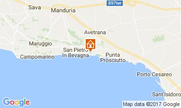 Mapa San Pietro in Bevagna Apartamento 110788