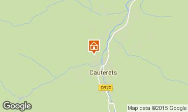 Mapa Cauterets Apartamento 4090