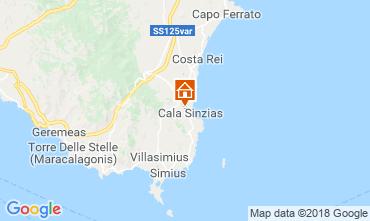 Mapa Villasimius Casa 116316
