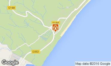 Mapa Narbonne plage Villa 76015