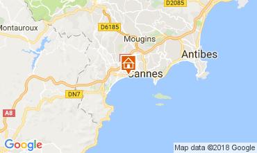 Mapa Cannes Apartamento 68698