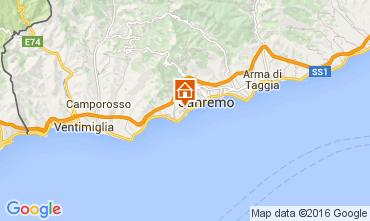 Mapa Sanremo Apartamento 104498