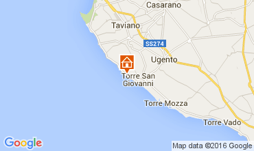 Mapa Ugento - Torre San Giovanni Estudio 105887
