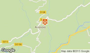 Mapa Aussois Apartamento 61857