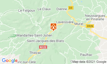 Mapa Le Lioran Estudio 80941