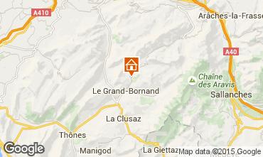 Mapa Le Grand Bornand Chalet 101638
