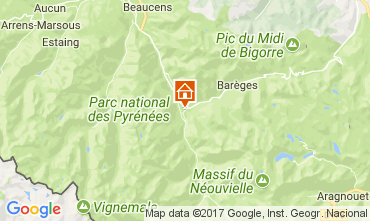 Mapa Luz Saint Sauveur Apartamento 111967