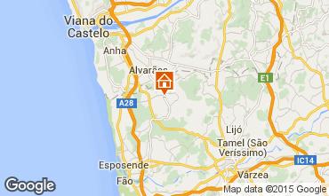 Mapa Barcelos Casa rural 49359