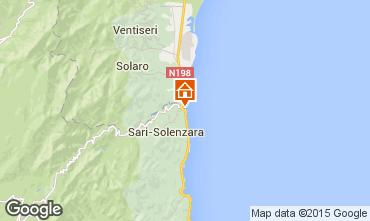 Mapa Porto Vecchio Apartamento 81285