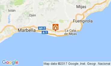 Mapa Marbella Apartamento 107616