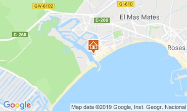 Mapa Rosas Apartamento 8285