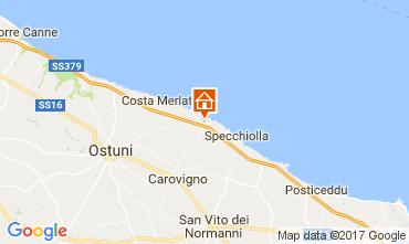 Mapa Ostuni Villa 101654