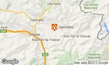 Mapa Morillon Grand Massif Apartamento 64448