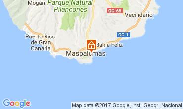 Mapa Playa del Inglés Apartamento 112023