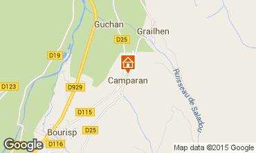 Mapa Saint Lary Soulan Casa rural 80216
